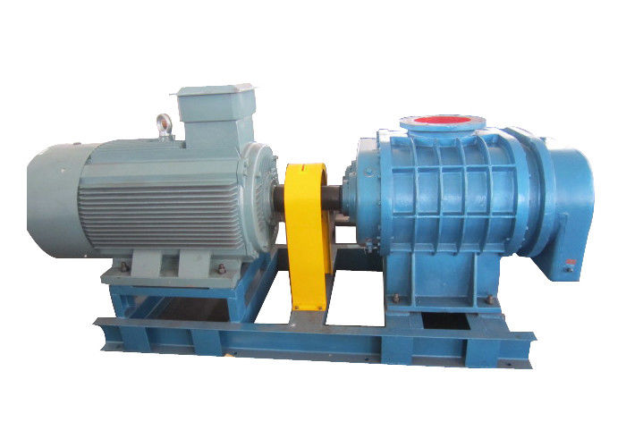 160KW Tri-Lobe Roots Blower For Pneumatic Convey Or Activated Sludge Treatment