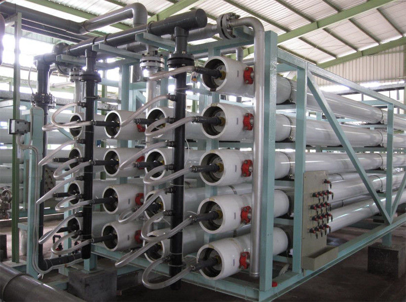 High pressure pump sea water reverse osmosis plant 2400 m3 / day