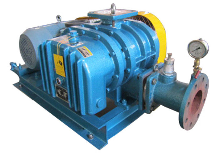 Conveying gas blower High Pressure roots lobe blower for non corrosive gas convey 98kpa 15kw Size 125mm
